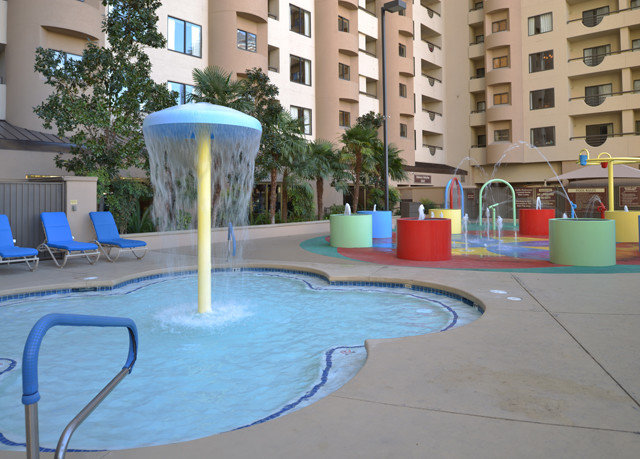 leisure swimming pool backyard condominium Playground water feature
