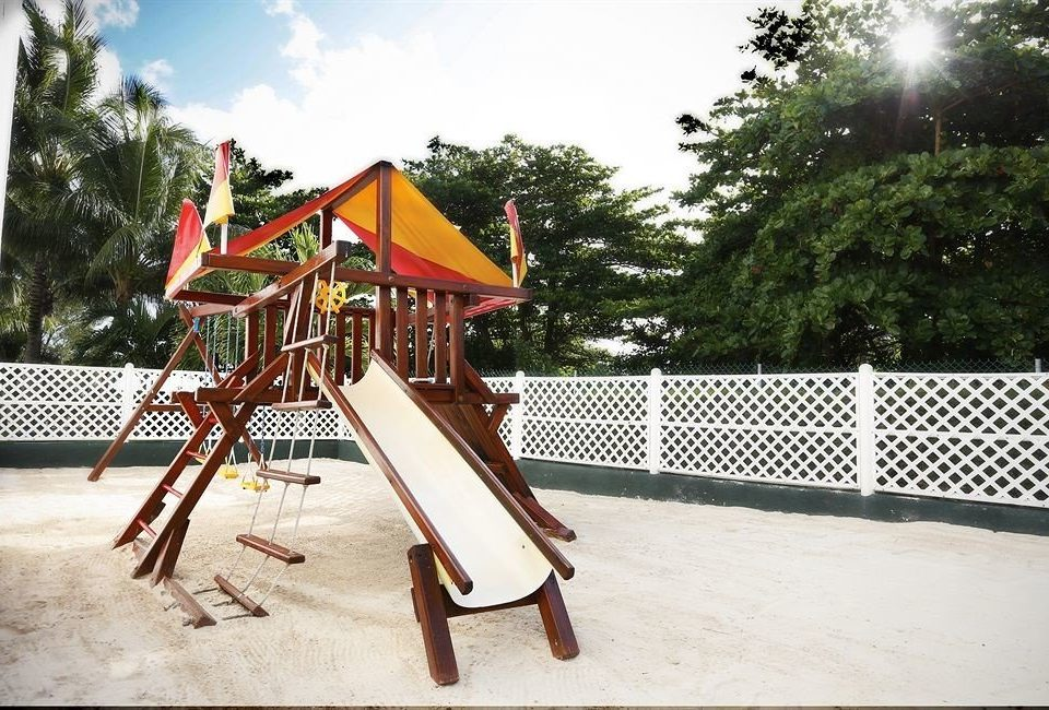 tree ground sky Playground outdoor play equipment