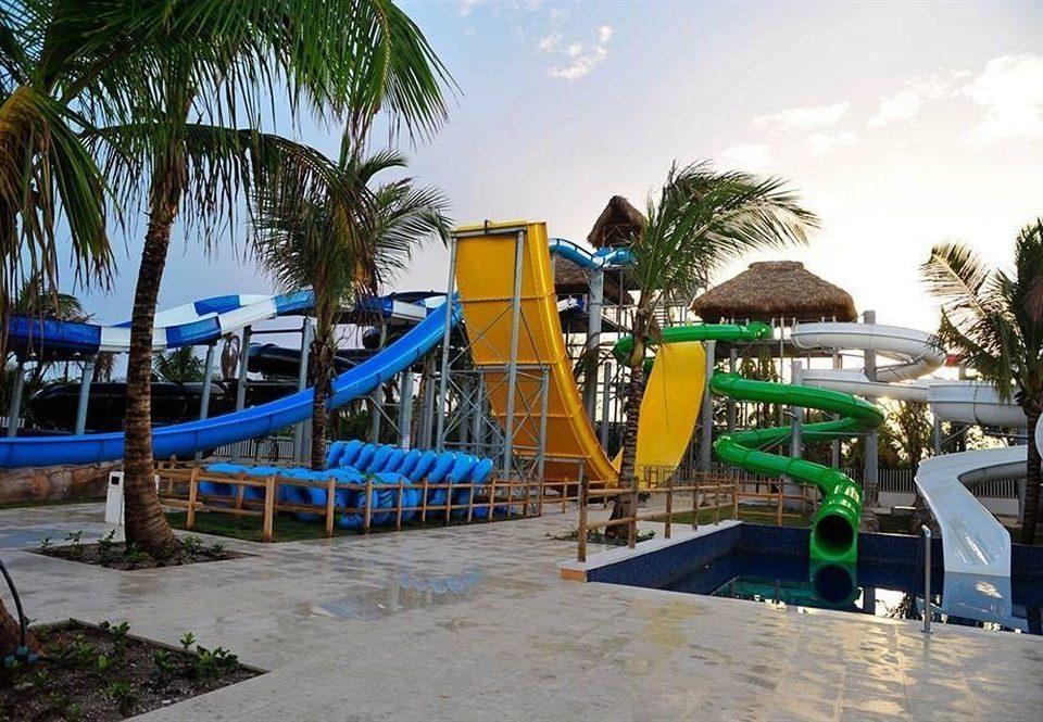tree sky amusement park Water park leisure palm Resort park Pool outdoor recreation recreation walkway nonbuilding structure Playground