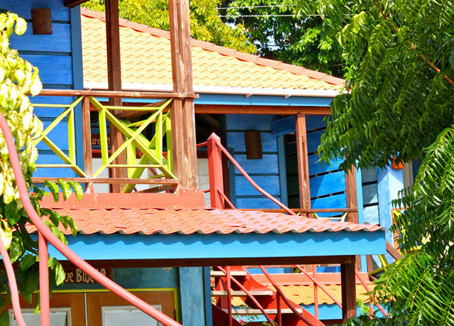 tree leisure house Resort home cottage Playground colorful
