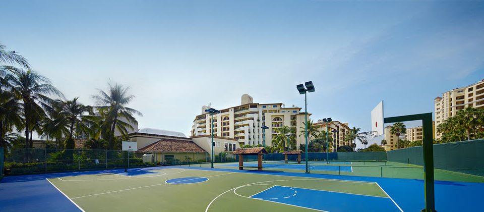 sky athletic game Sport structure leisure tennis sport venue residential area Resort neighbourhood plaza condominium Playground stadium town square swimming pool