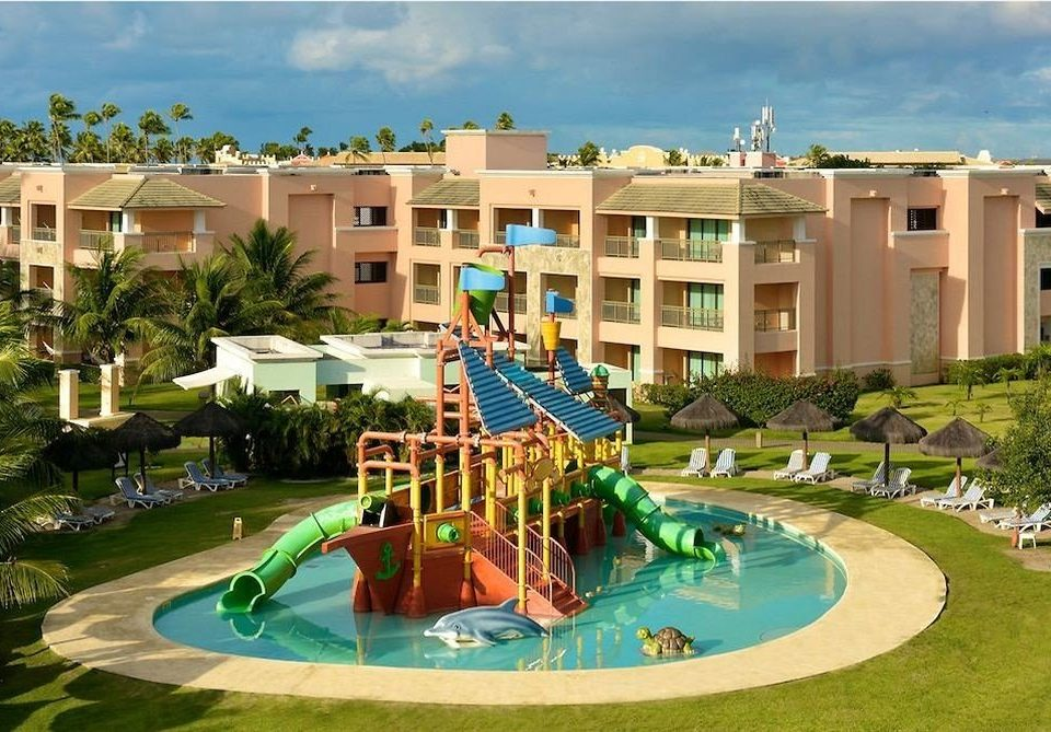sky building Resort grass leisure property swimming pool condominium Water park amusement park resort town Playground mansion park palace Villa colorful