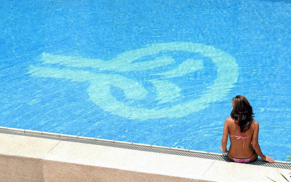water blue swimming pool surfing equipment and supplies Pool