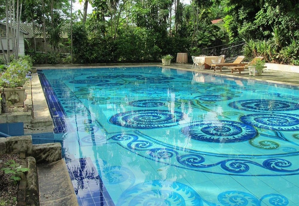 tree swimming pool property leisure reflecting pool backyard Pool Resort