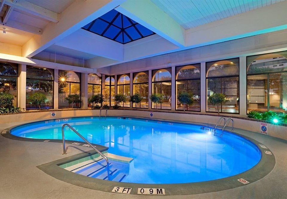 Pool swimming pool blue property Resort leisure building leisure centre condominium empty billiard room