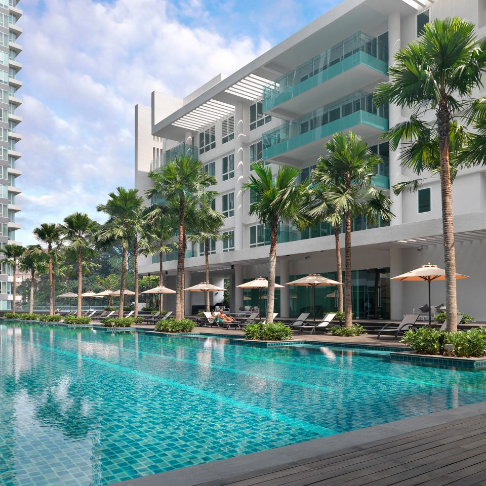 building water condominium Pool swimming pool property leisure Resort reflecting pool marina blue plaza swimming
