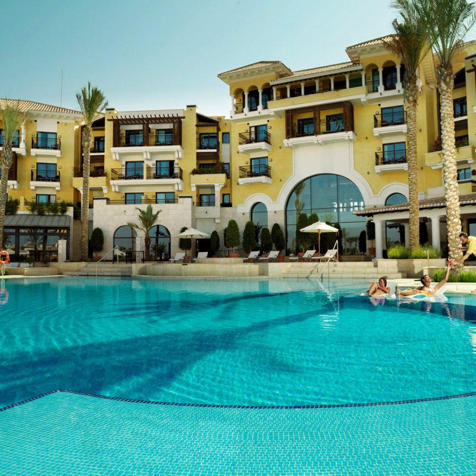 sky Resort swimming pool building property Pool leisure condominium palace resort town swimming mansion blue