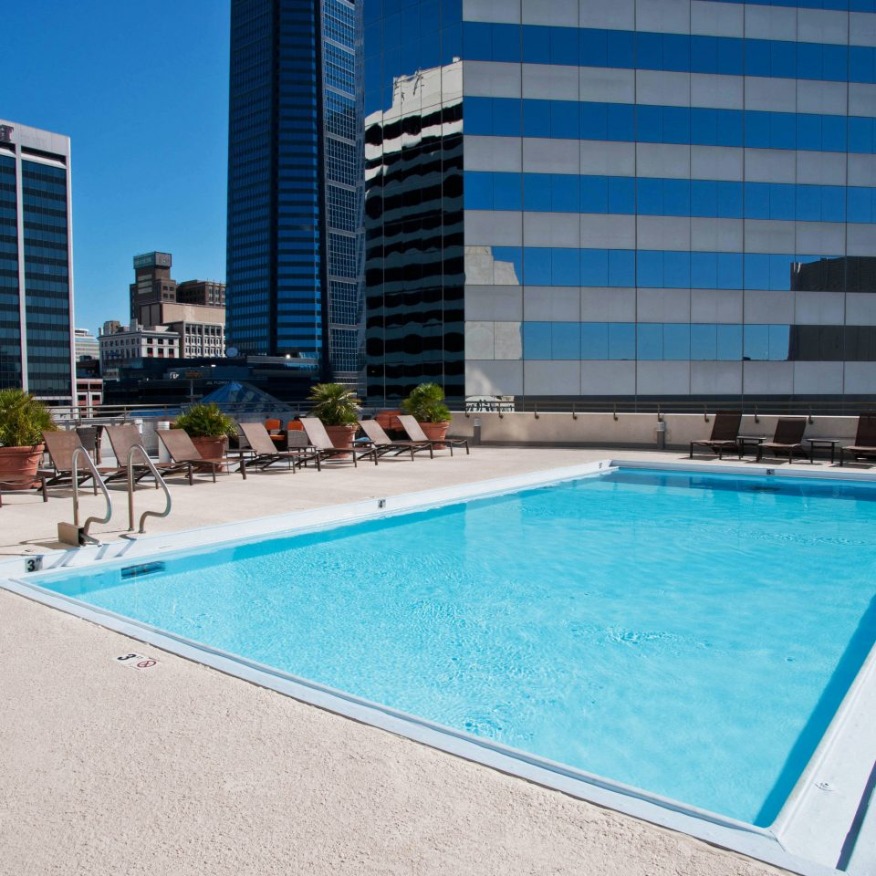 building Pool ground swimming pool leisure property condominium blue swimming Resort