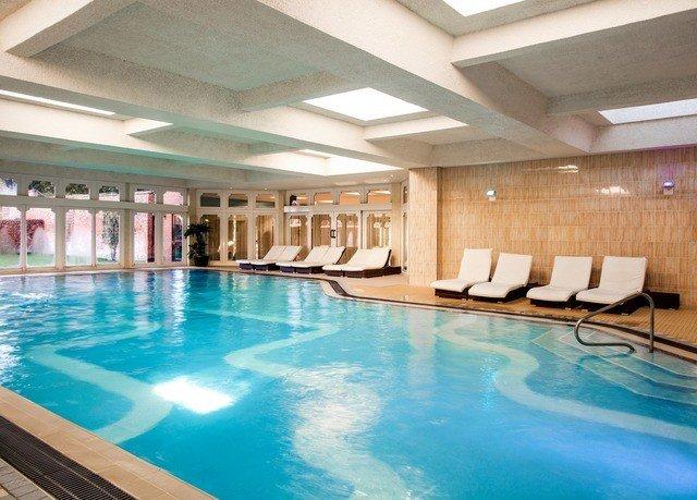 swimming pool property leisure Pool Resort blue leisure centre condominium empty swimming