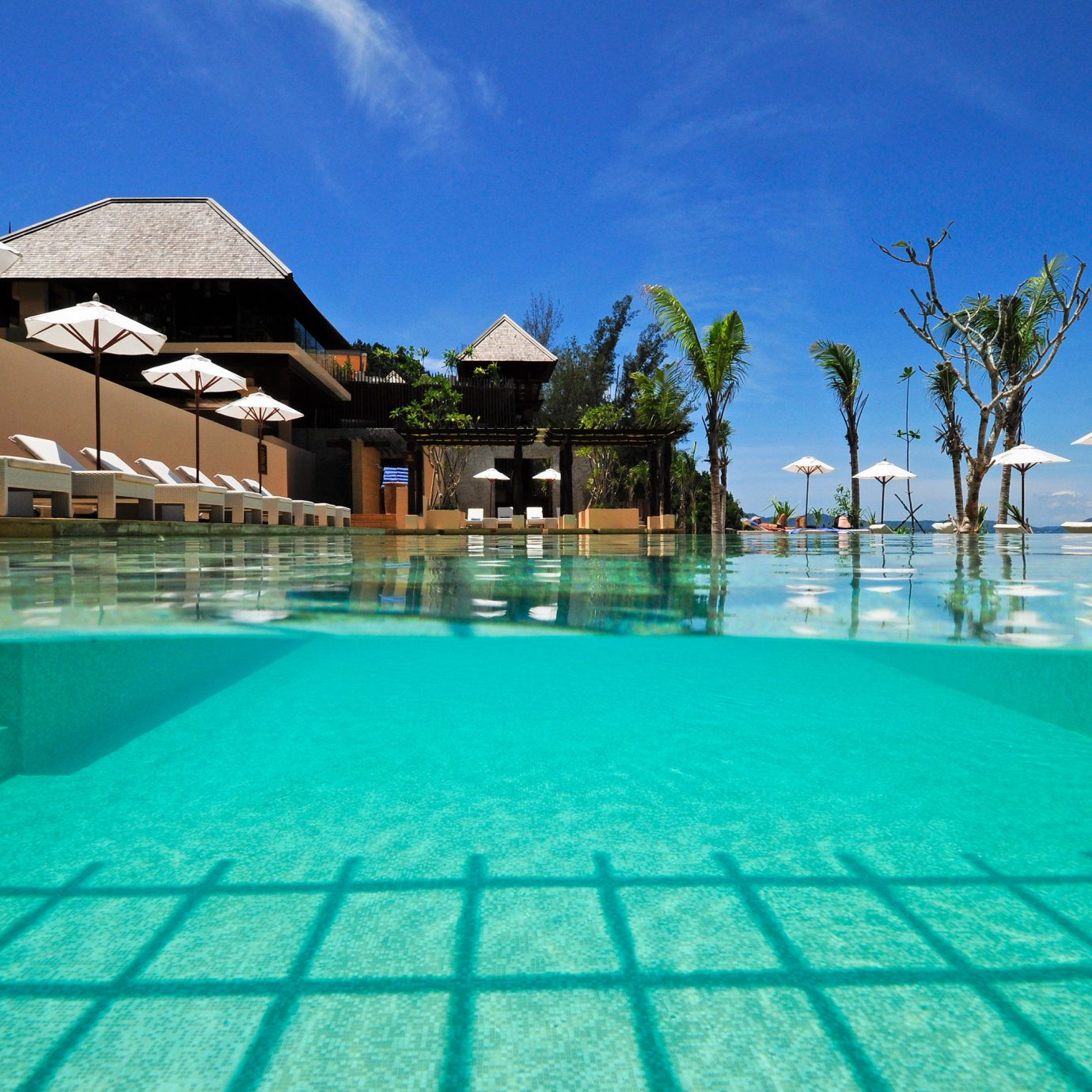 sky swimming pool leisure property Pool Resort condominium resort town blue swimming