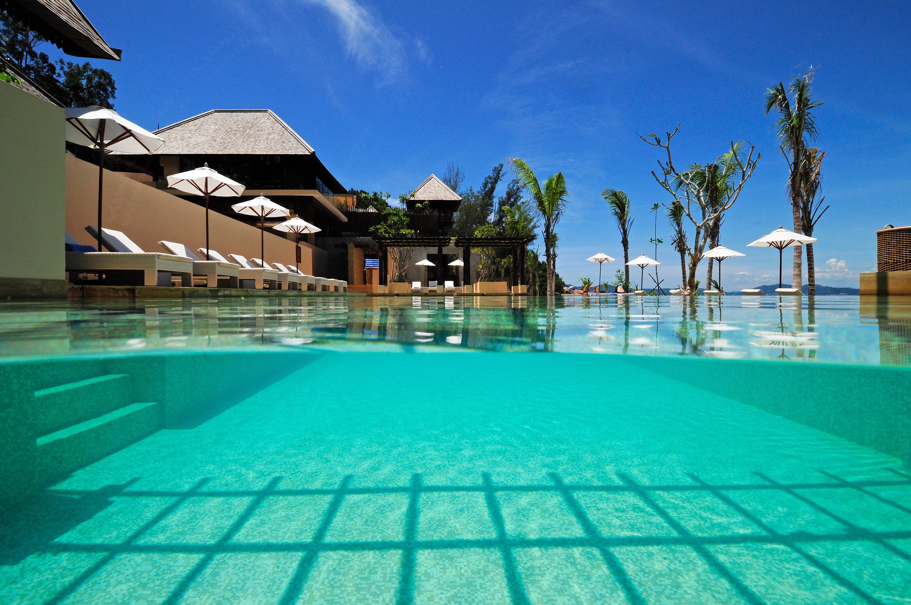 sky swimming pool leisure property Pool Resort condominium resort town blue swimming