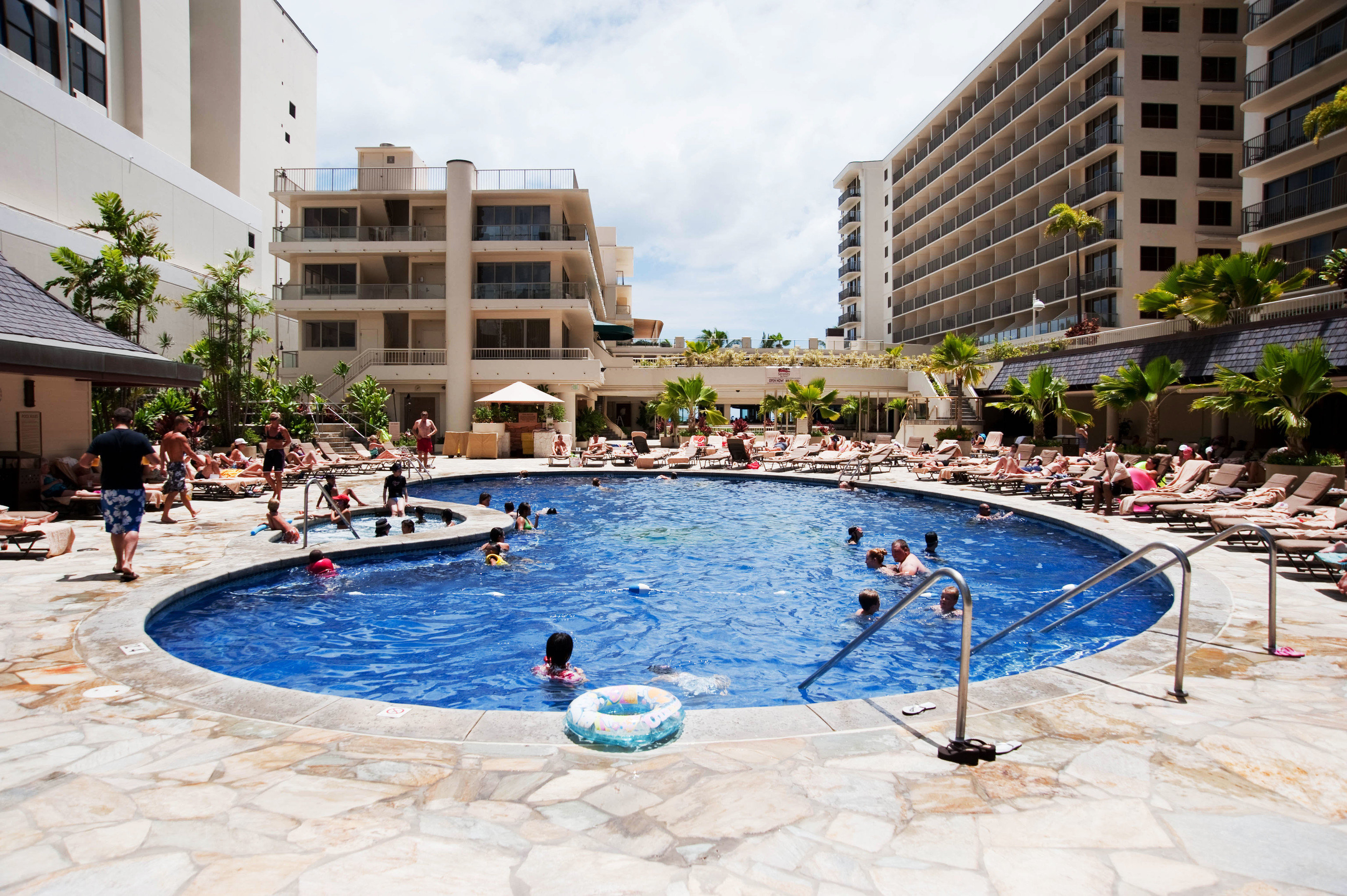 building water Pool Resort swimming day