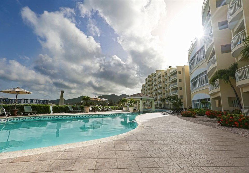 sky ground property swimming pool Resort condominium Pool day