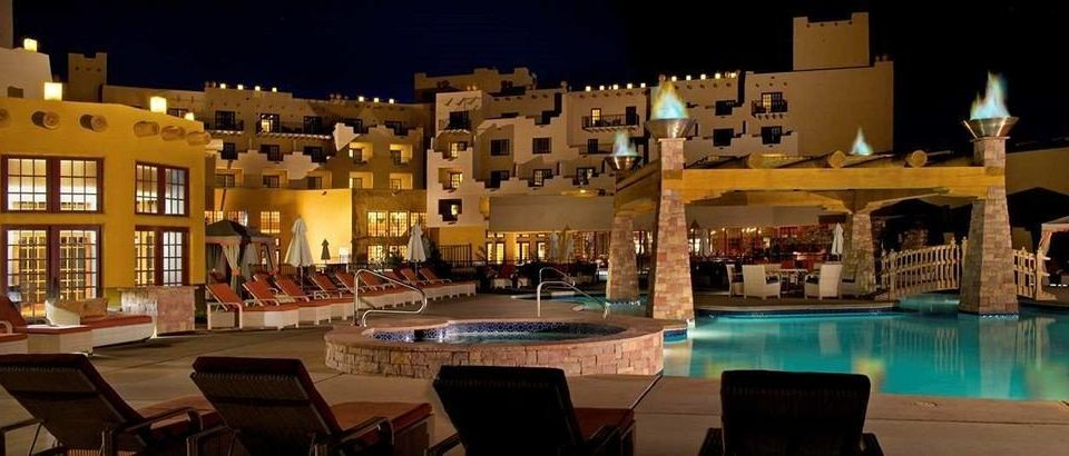 Pool Resort plaza night palace