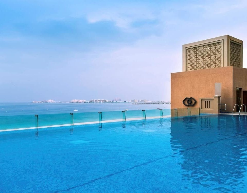 water sky swimming pool property leisure Resort Pool Sea blue shore swimming