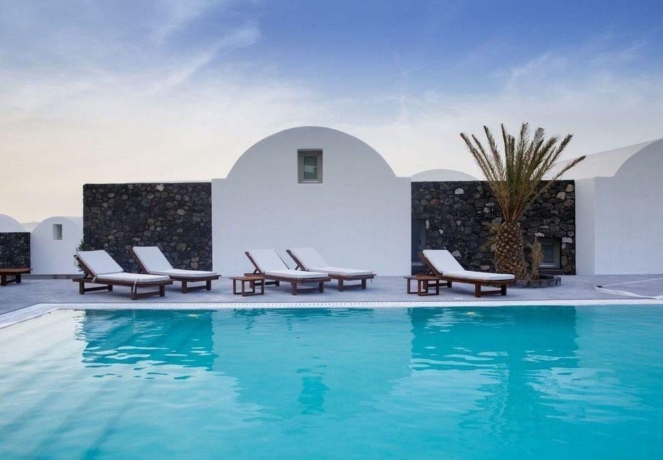 water Pool swimming pool leisure property building Resort swimming Villa blue Sea