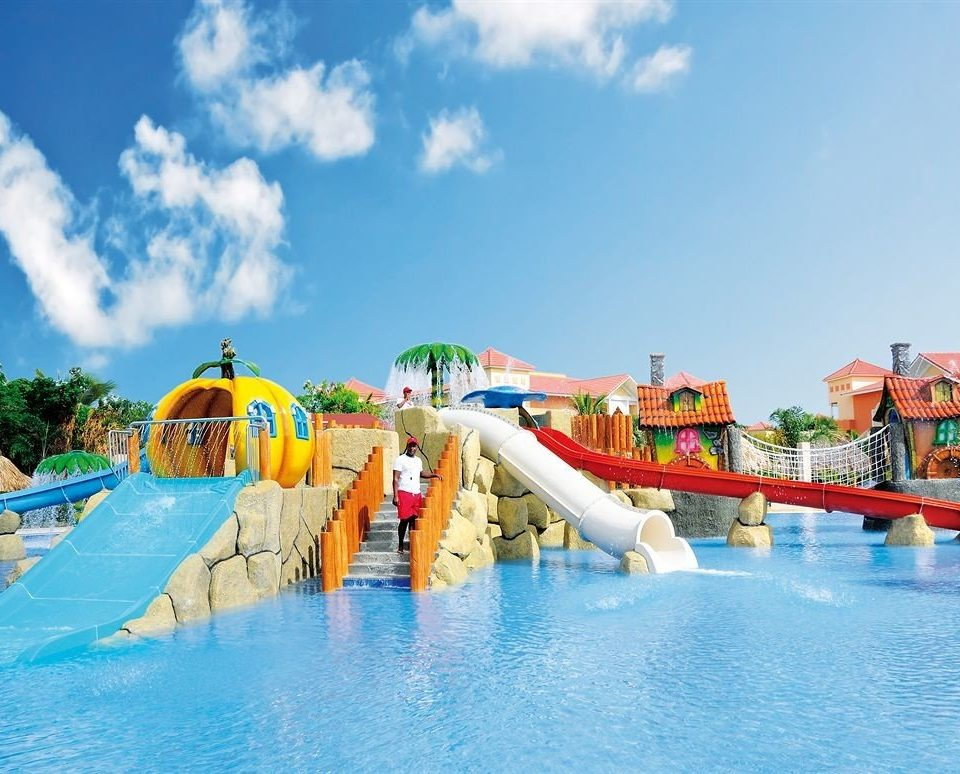 sky water amusement park Water park leisure park swimming pool Resort outdoor recreation recreation resort town Sea Pool nonbuilding structure blue swimming