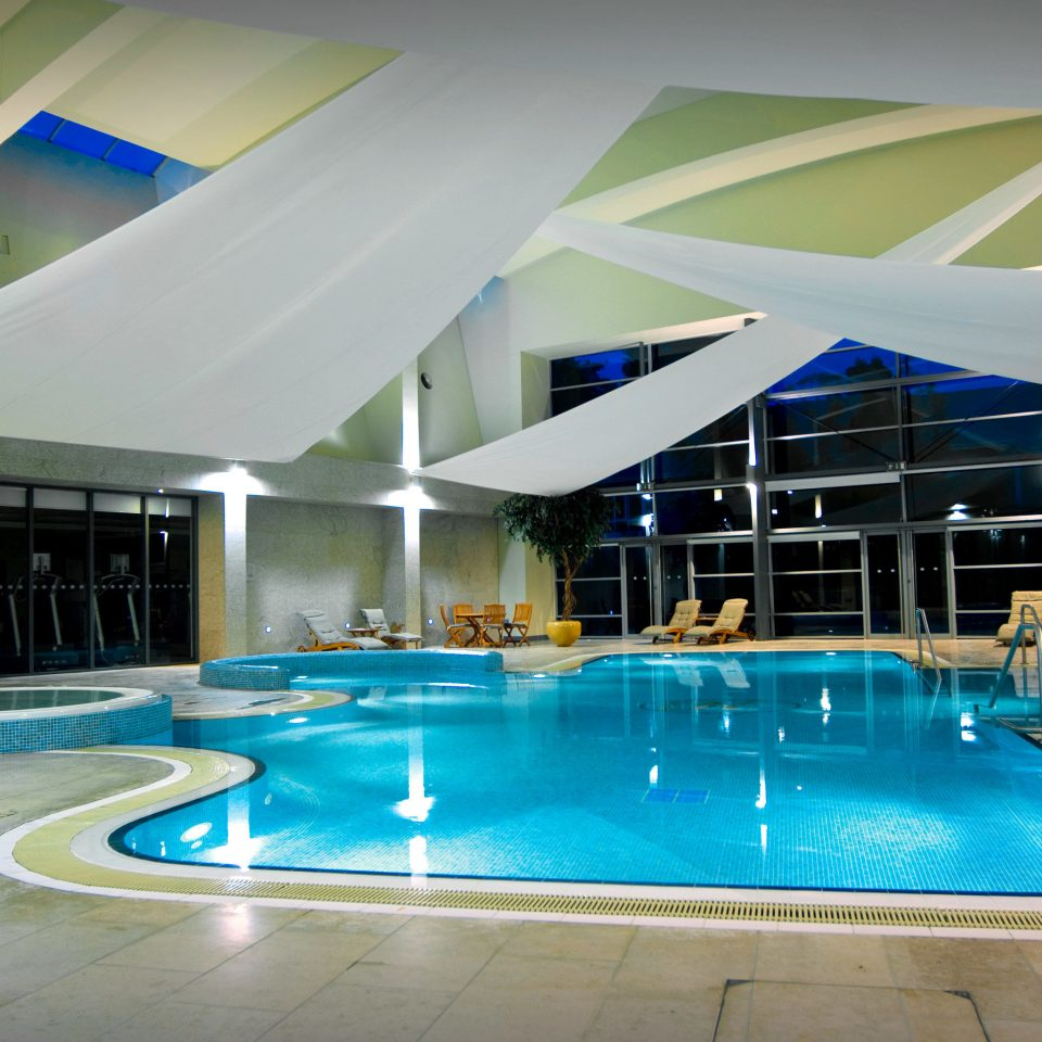 Pool Spa swimming pool leisure blue leisure centre Resort convention center empty swimming