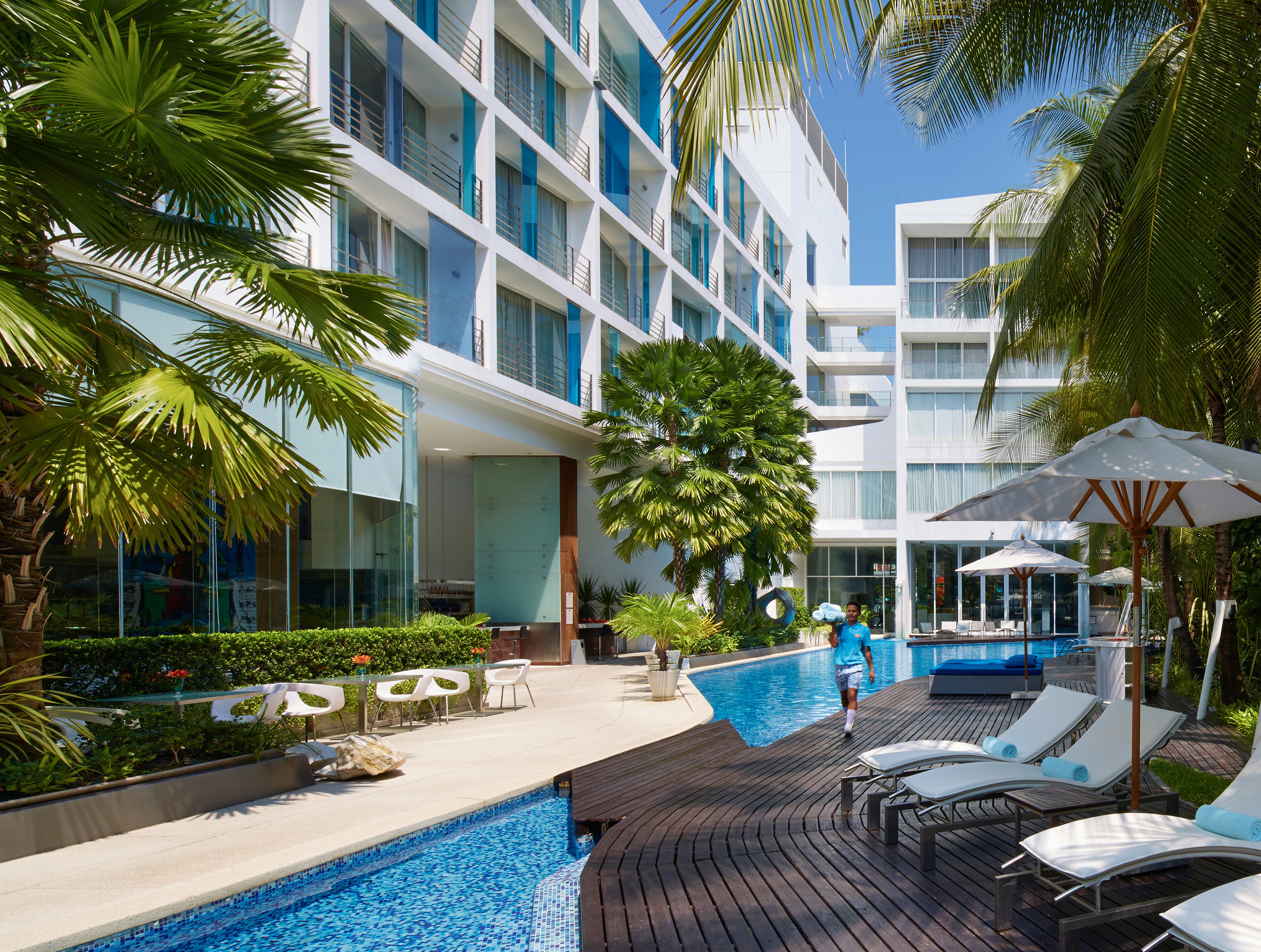 tree condominium Resort property leisure building swimming pool caribbean home Pool arecales Villa palm