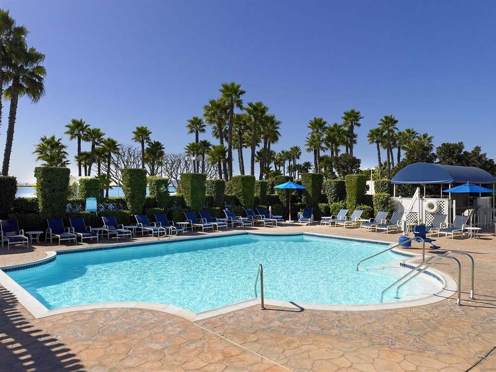 sky tree water swimming pool Pool property leisure Resort Villa backyard condominium blue swimming