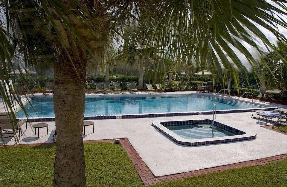 grass tree swimming pool property Pool backyard Villa Resort lawn park mansion plant palm
