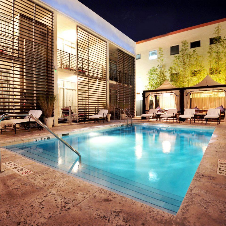 swimming pool building property leisure Resort blue Pool condominium Villa mansion backyard