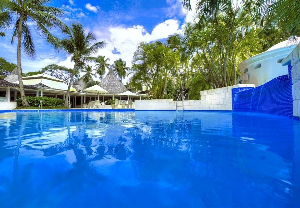 tree swimming pool property Pool leisure blue Resort resort town Villa backyard swimming surrounded