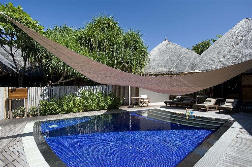sky tree swimming pool leisure property reflecting pool Resort Villa Pool backyard