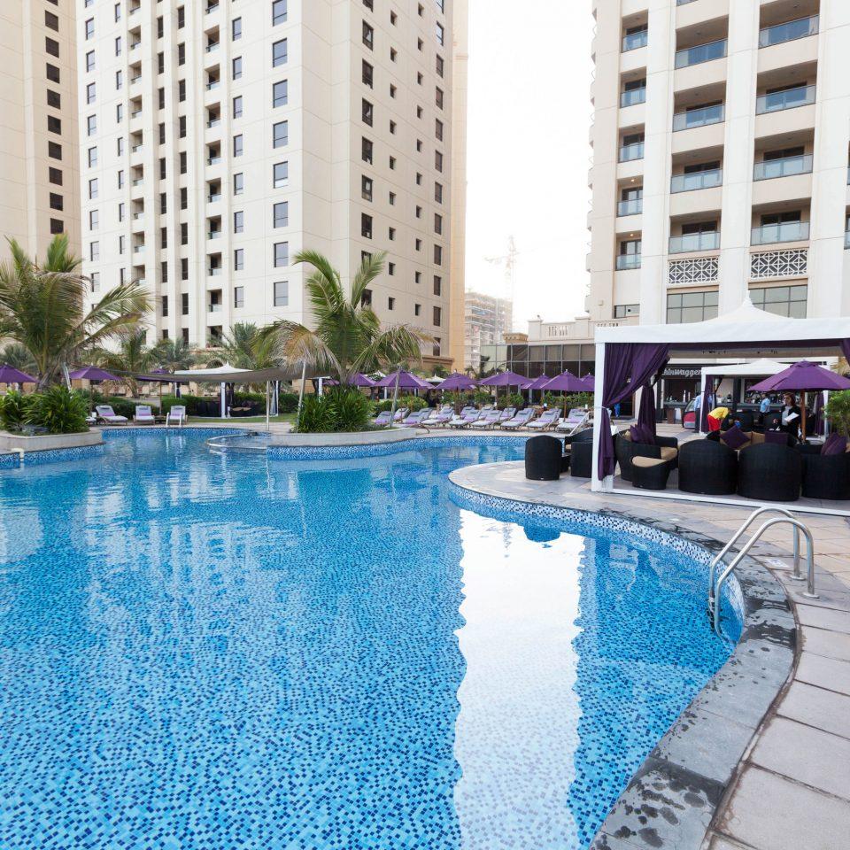 building swimming pool property condominium reflecting pool Resort backyard Villa Pool