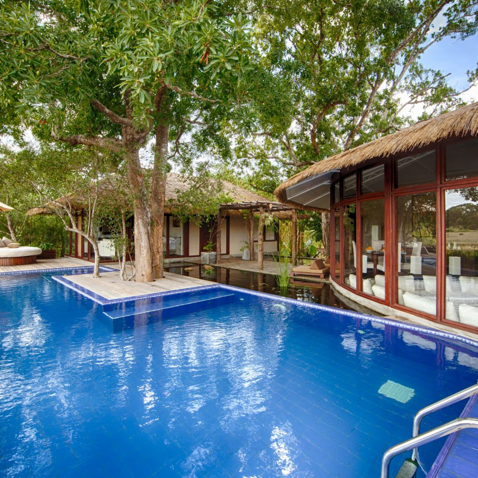 tree swimming pool property leisure Resort building Pool blue Villa backyard home eco hotel