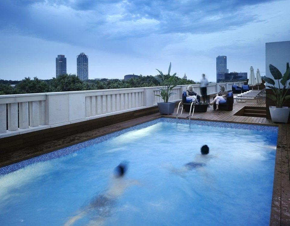 sky water swimming pool leisure property Pool water sport reflecting pool Resort Villa swimming backyard