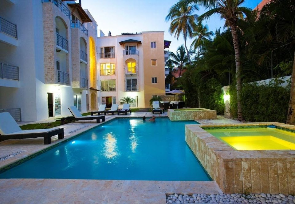 swimming pool property leisure Villa Resort condominium mansion backyard hacienda Pool
