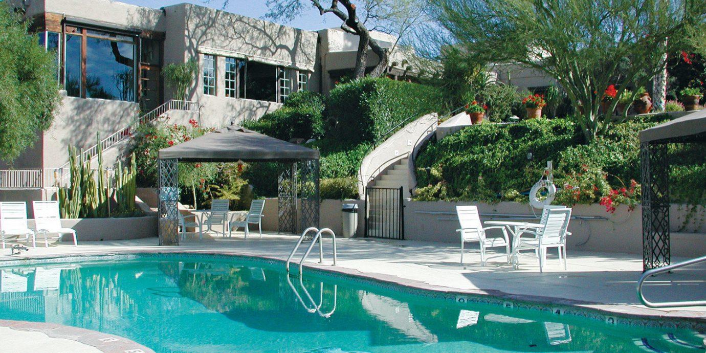 tree swimming pool property Resort condominium Pool backyard water sport home Villa mansion swimming