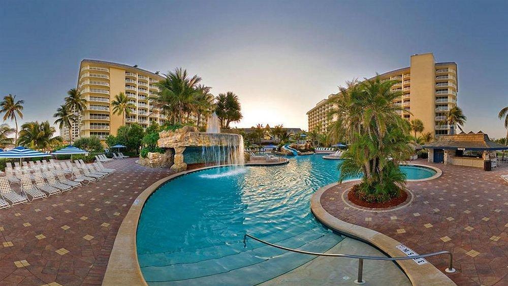 sky ground swimming pool condominium property Resort Pool reflecting pool mansion home backyard Villa palace