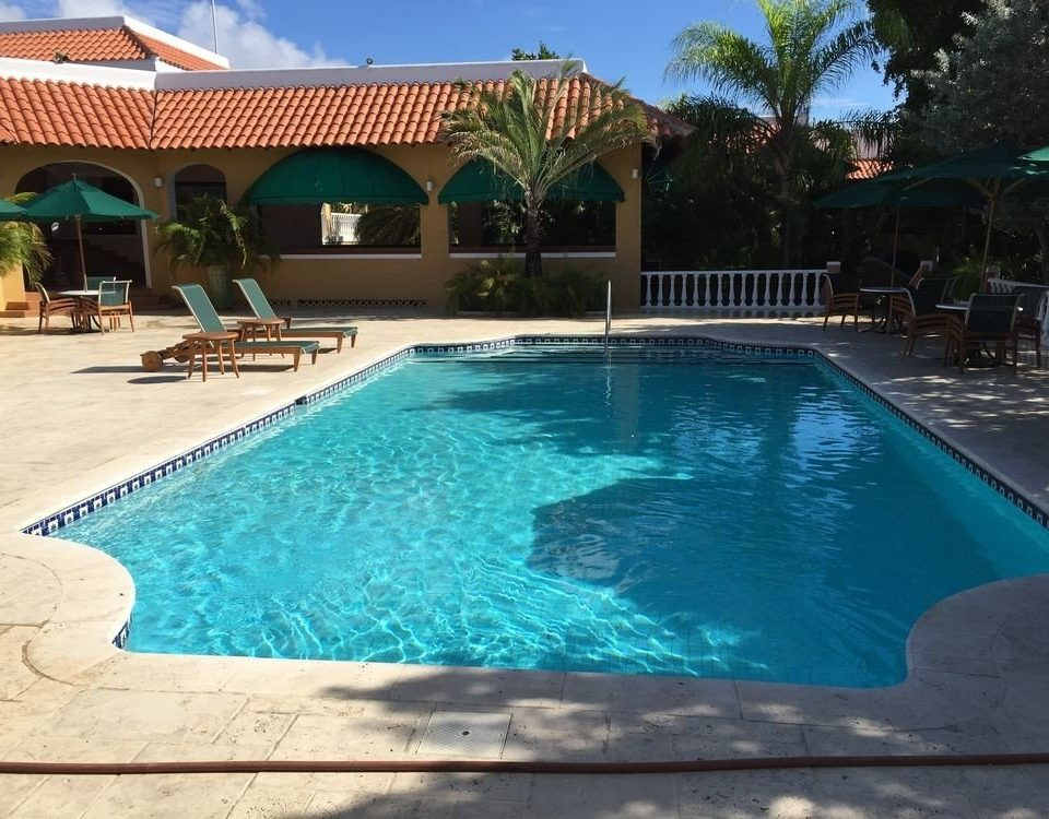 Pool water swimming Resort swimming pool property building leisure Villa backyard blue
