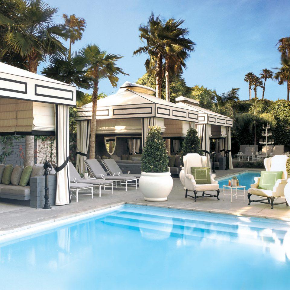 tree swimming pool property leisure condominium building Pool Resort Villa home mansion backyard swimming