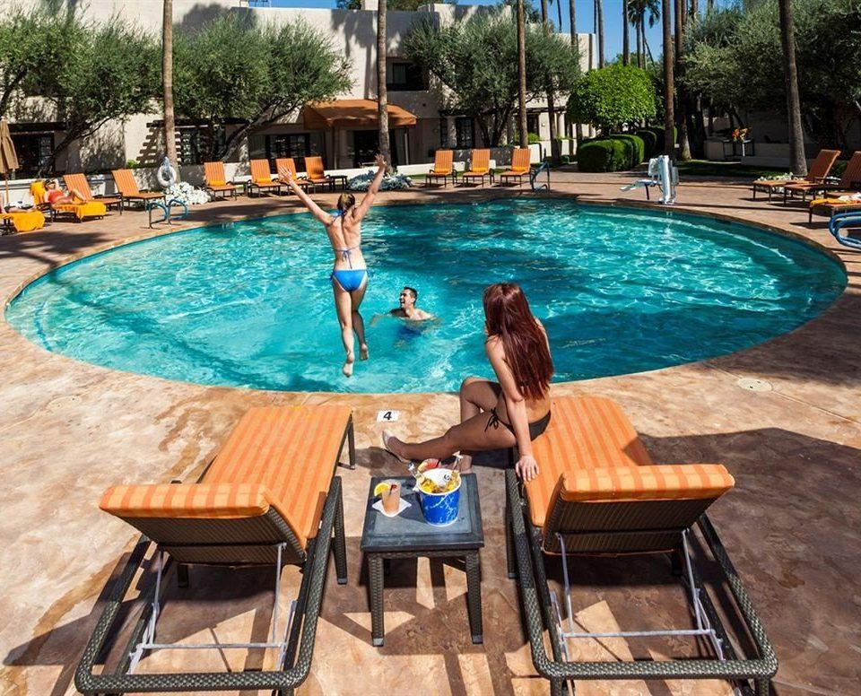 tree chair leisure swimming pool property Pool Resort backyard Villa swimming