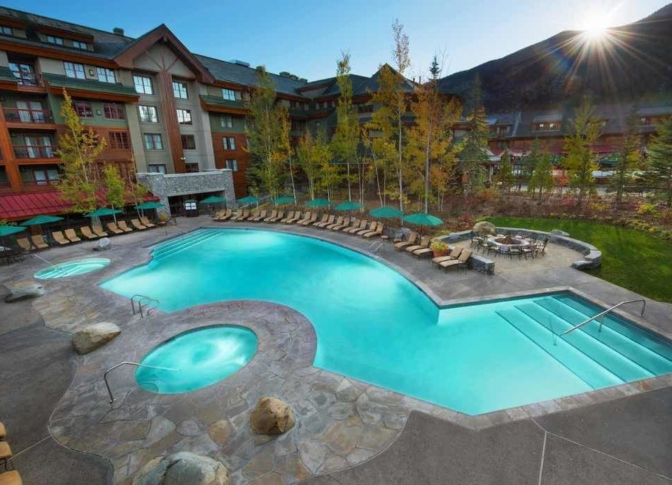 swimming pool property leisure Resort backyard resort town Villa Pool condominium mansion