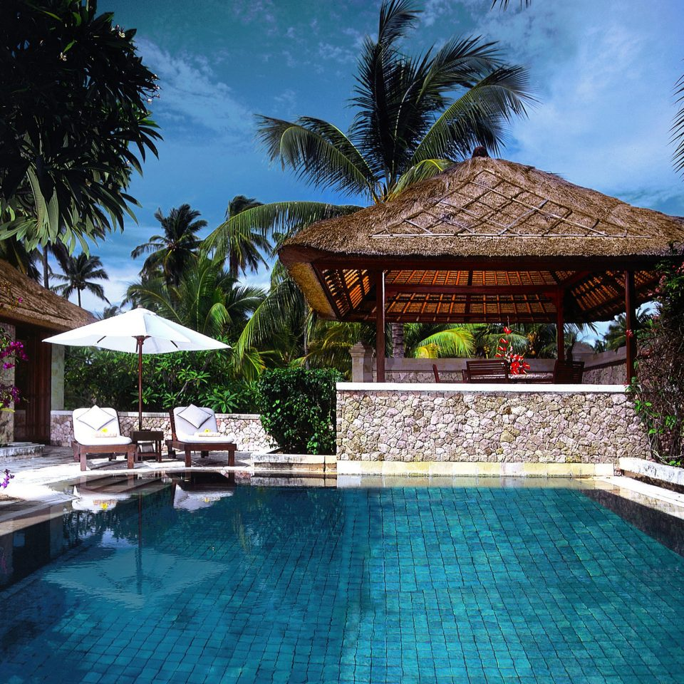 tree swimming pool Resort property building Pool Villa home backyard cottage eco hotel swimming