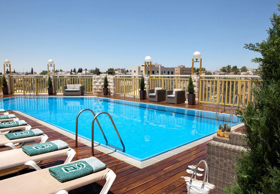 sky swimming pool property leisure Resort Villa reflecting pool Pool mansion condominium backyard blue