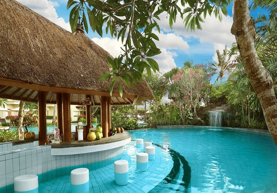 tree water swimming pool leisure property Resort building Pool Villa caribbean backyard