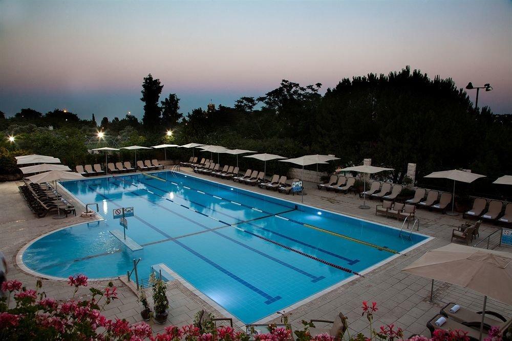 sky swimming pool leisure property Resort Pool Villa backyard blue lined swimming shore