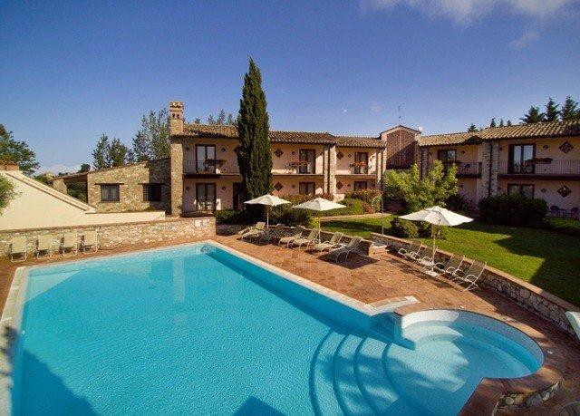sky swimming pool property Villa Resort mansion home backyard Pool hacienda condominium blue