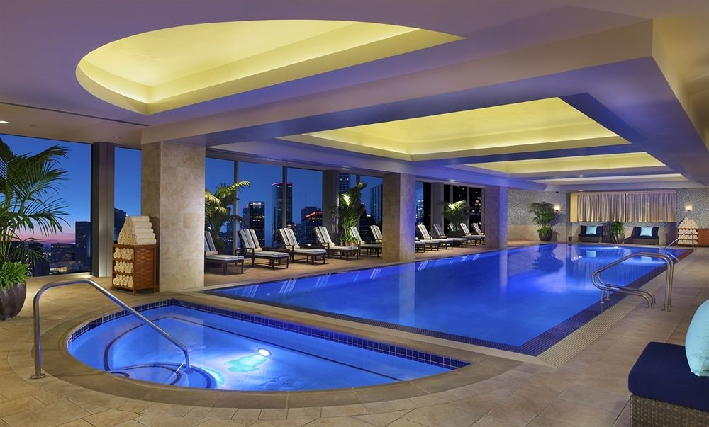 swimming pool property leisure Resort Pool leisure centre billiard room recreation room Villa empty