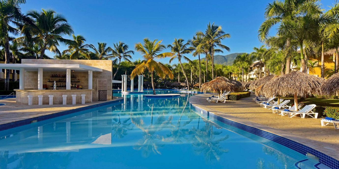 tree sky Resort swimming pool leisure property Pool blue resort town Villa palm swimming