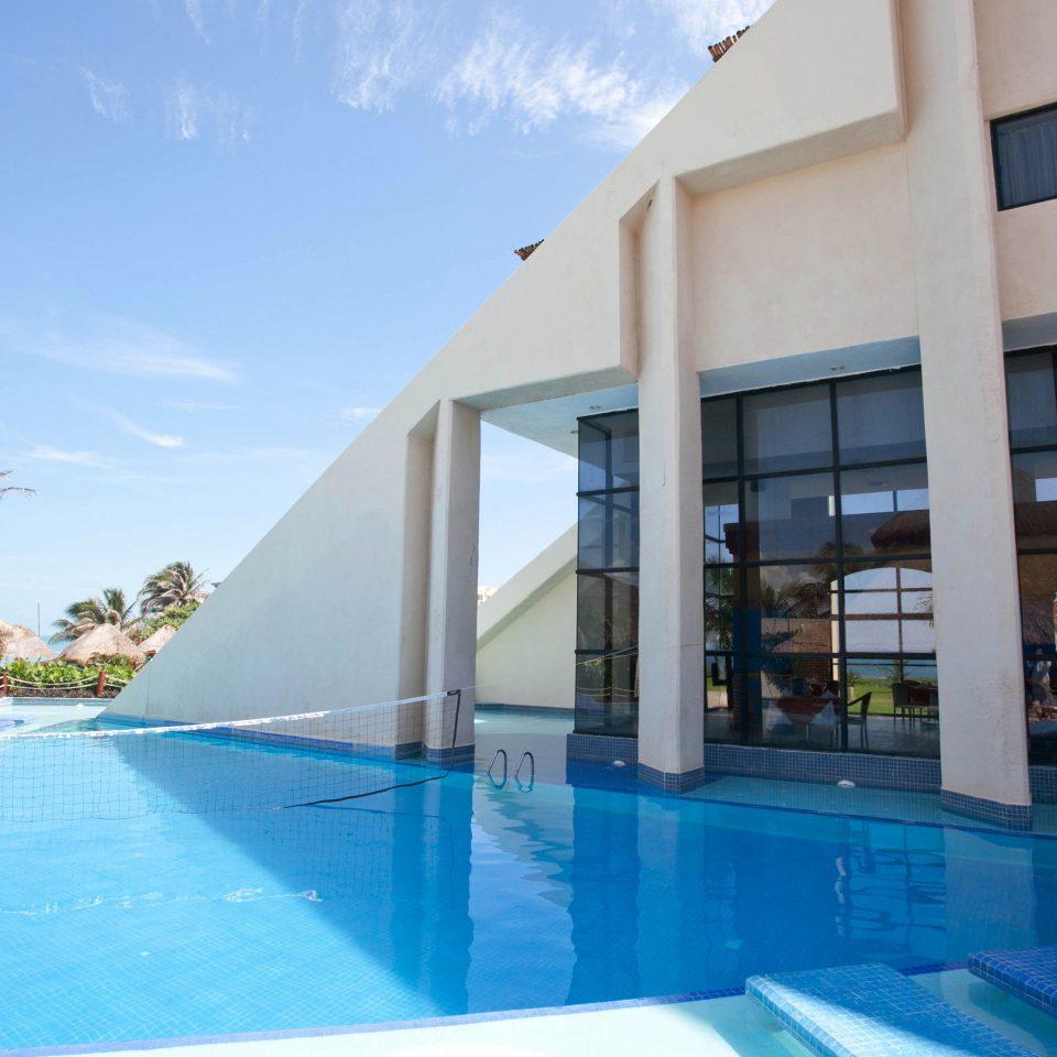 sky water swimming pool leisure Pool property Resort condominium leisure centre blue Villa swimming