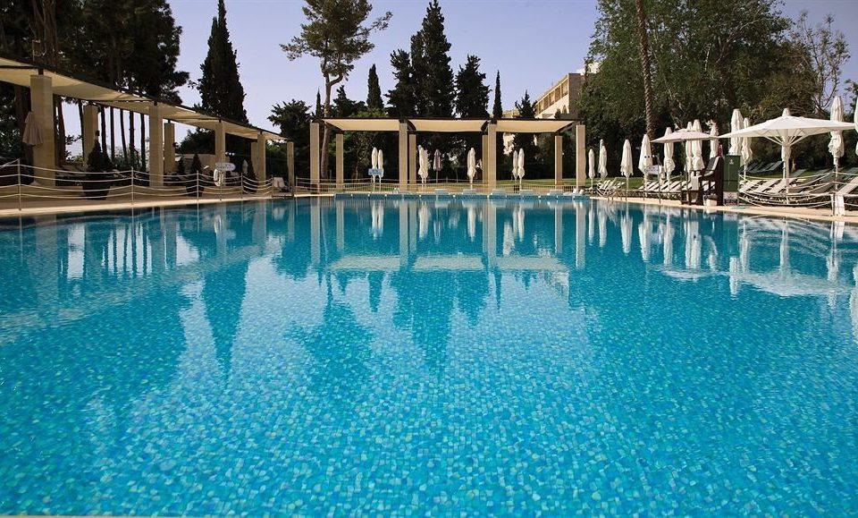 sky tree water swimming pool property leisure Resort reflecting pool resort town Pool Villa mansion blue palace