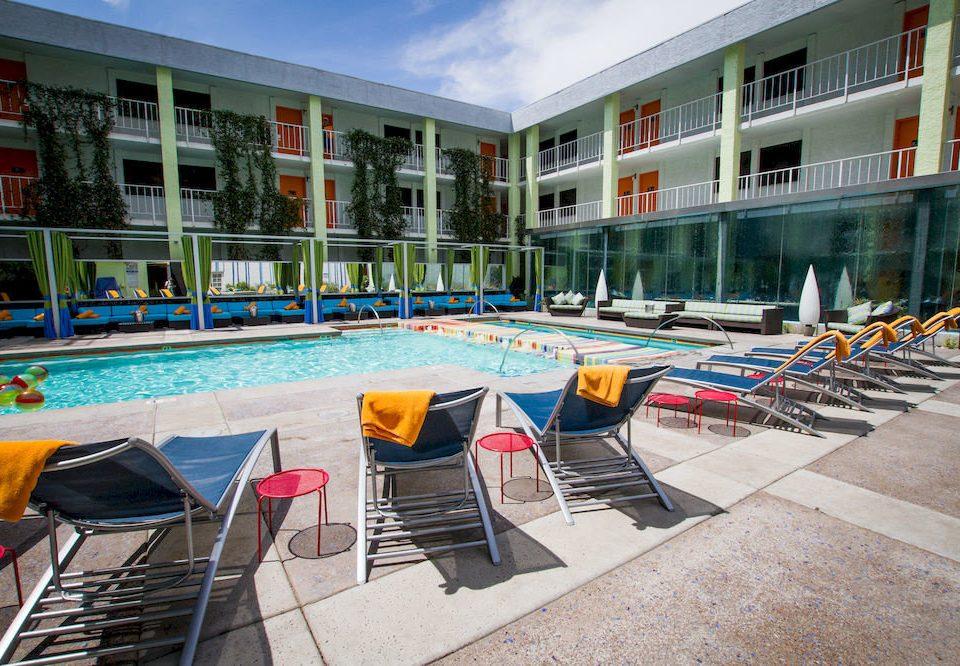 Pool building ground leisure chair property swimming pool condominium Resort plaza Villa