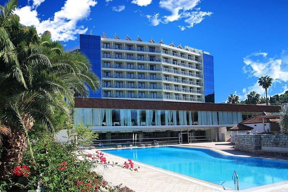 building sky Resort water condominium Pool property swimming pool home plaza Villa mansion swimming