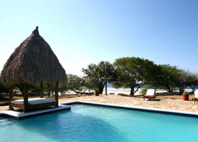 sky water swimming pool building Pool property leisure Resort Villa empty